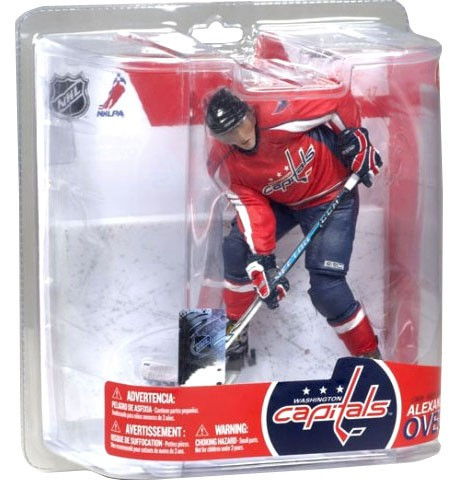 ef5f1e164 McFarlane Toys NHL Washington Capitals Series 17 Alexander Ovechkin Action  Figure [Red Jersey]