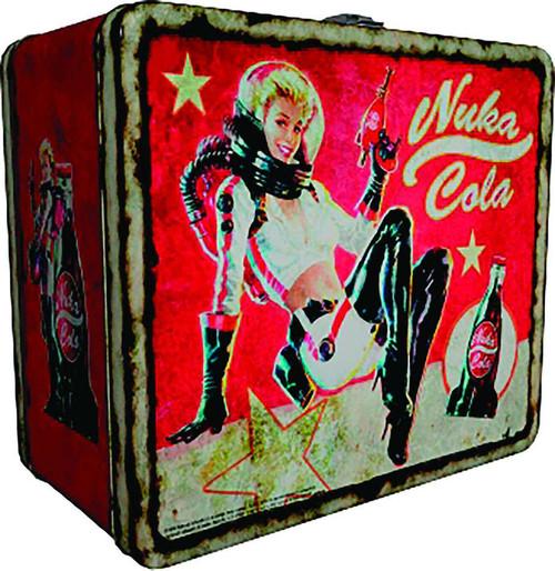 fallout fallout nuka cola 8 x 6 12 x 4 tin tote lunch box fanwraps inc toywiz. Black Bedroom Furniture Sets. Home Design Ideas