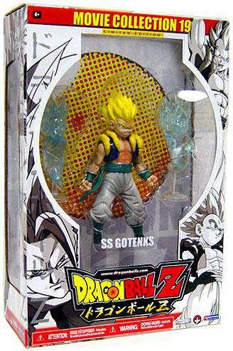 Dragon Ball Z Series 19 Movie Collection SS Gotenks Actio...
