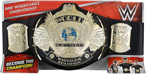 Mattel WWE Wrestling Winged Eagle Championship Championsh...