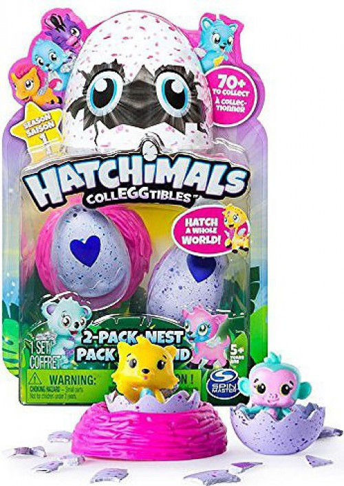 Nickelodeon Hatchimals Colleggtibles Season 1 Mystery 2-P...