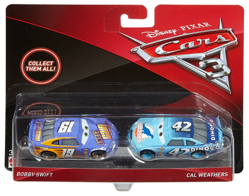 Mattel Disney Cars Cars 3 Bobby Swift & Cal Weathers Diec...