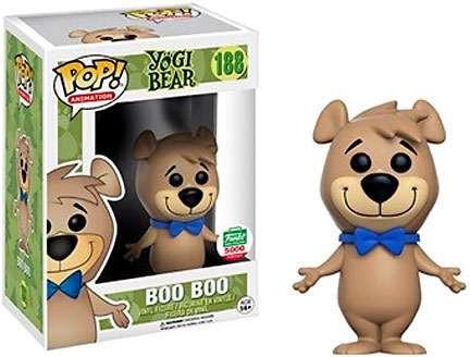 Funko Yogi Bear Pop Animation Boo Boo Exclusive Vinyl