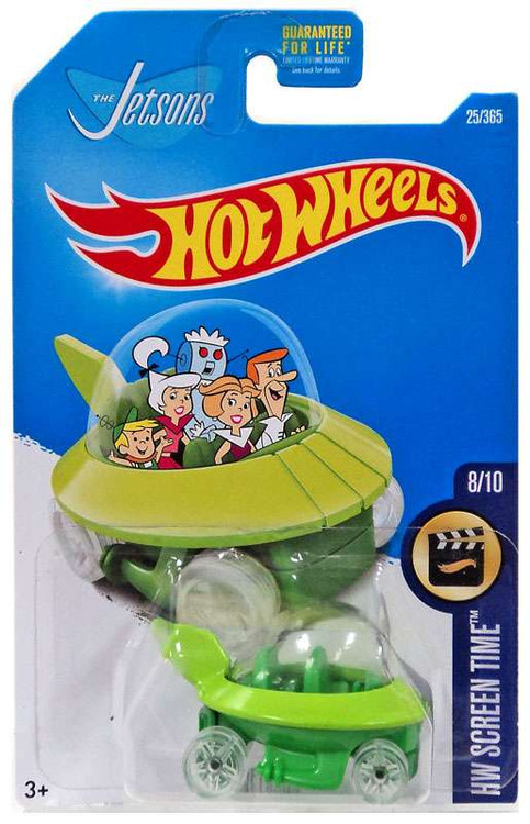 Hot Wheels HW Screen Time The Jetsons Die-Cast Car #8/10