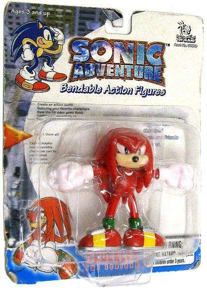 Use Accessories To Link Your Island To The Rest Of Your: Sonic The Hedgehog Sonic Adventure Knuckles 3 Bendable