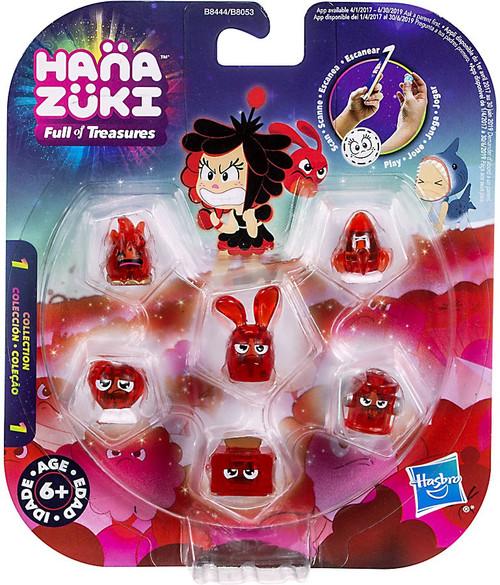 Toys And Treasures : Hanazuki full of treasures series red feisty pack
