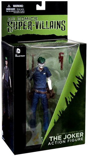 DC Super Villains The New 52 The Joker Action Figure [Loose]