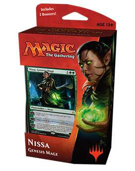 Wizards Of The Coast MtG Hour of Devastation Nissa, Genes...