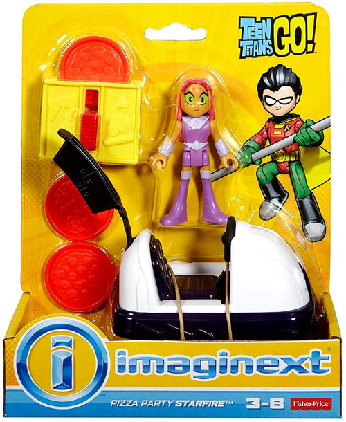 Fisher Price Teen Titans Go Imaginext Pizza Party Starfire -7180