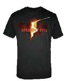 Resident Evil Logo T-Shirt RE5 [Adult Small]