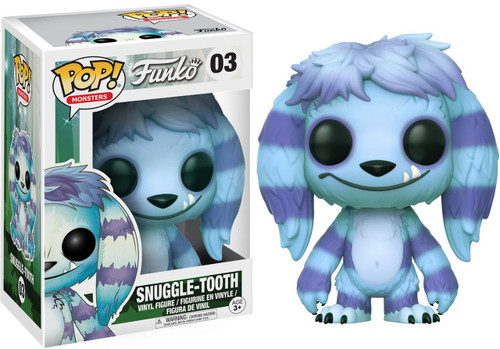 Funko Wetmore Forest Funko Pop Monsters Snuggle Tooth