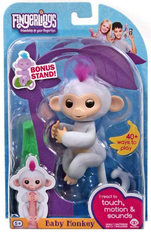 Wow Wee Fingerlings Baby Monkey Sophie Figure [with Bonus...