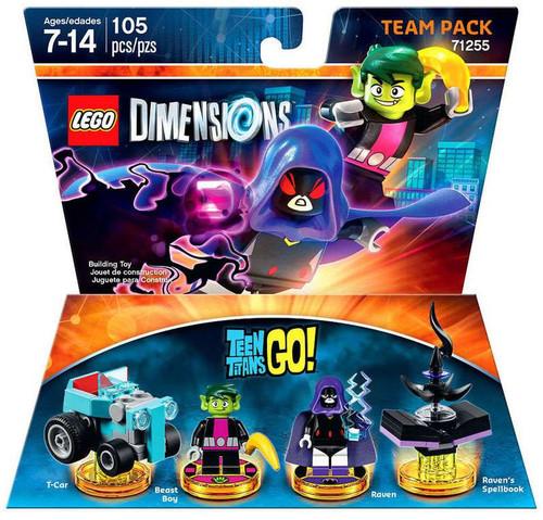 Lego Dimensions Teen Titans Go T Car Beast Boy Raven