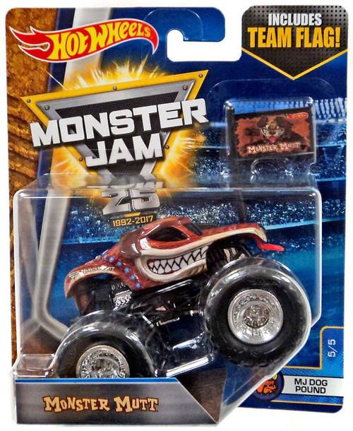 Hot Wheels Monster Jam 25 Monster Mutt Diecast Car #5/5 [...