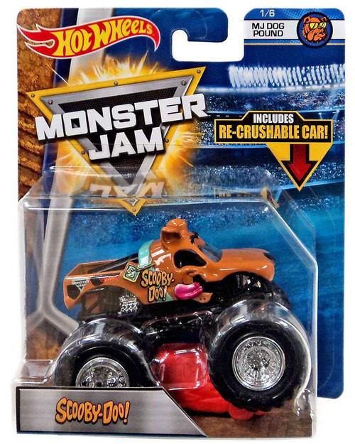 Hot Wheels Monster Jam Scooby-Doo! Die-Cast Car #1/6 [MJ ...