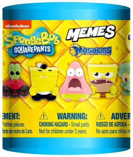 Spongebob Squarepants MashEms Series 2 Memes Mystery Box ...  |Mystery Shopper Memes