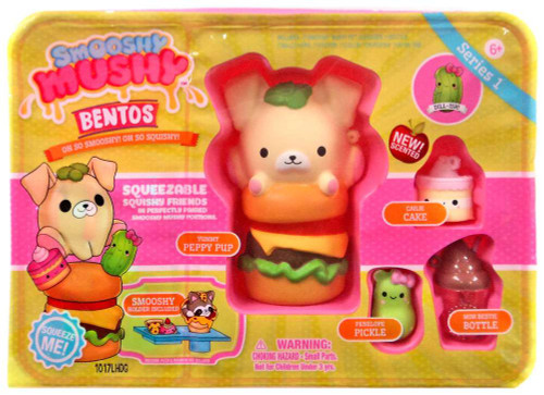 Smooshy Mushy Series 1 Checklist : Smooshy Mushy Bentos Series 1 Peppy Pup Playset Redwood - ToyWiz
