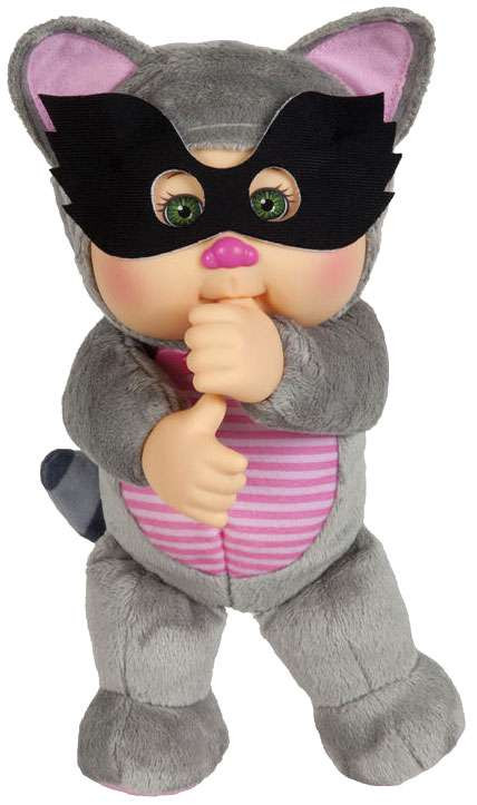 Cabbage Patch Kids Cuties Forest Friends Rusty Raccoon 9-...