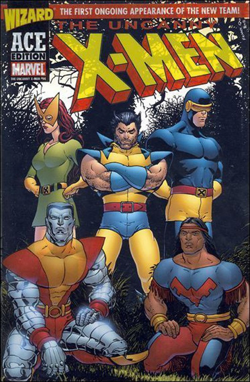 Marvel The Uncanny X-Men Comic Book #94 [Wizard Ace Edition]