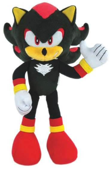 Free Home Phone Service >> Sonic The Hedgehog Shadow 12 Deluxe Plush Modern TOMY - ToyWiz