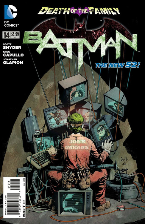 DC The New 52 Batman Comic Book #14 [Death of The Family]