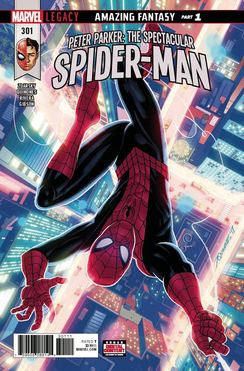 Marvel Peter Parker Spectacular Spider-Man #301 Comic Boo...