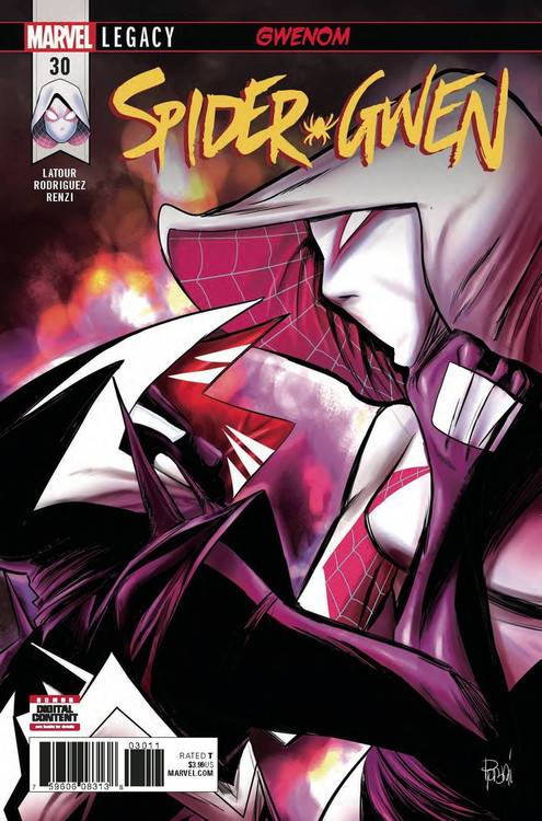 Marvel Spider-Gwen #30 Comic Book (Pre-Order ships March)