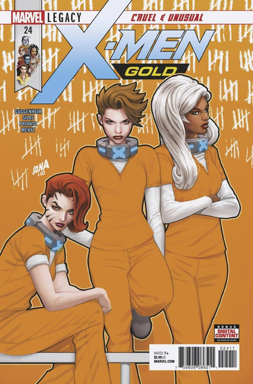 Marvel X-Men Gold #24 Comic Book (Pre-Order ships March)