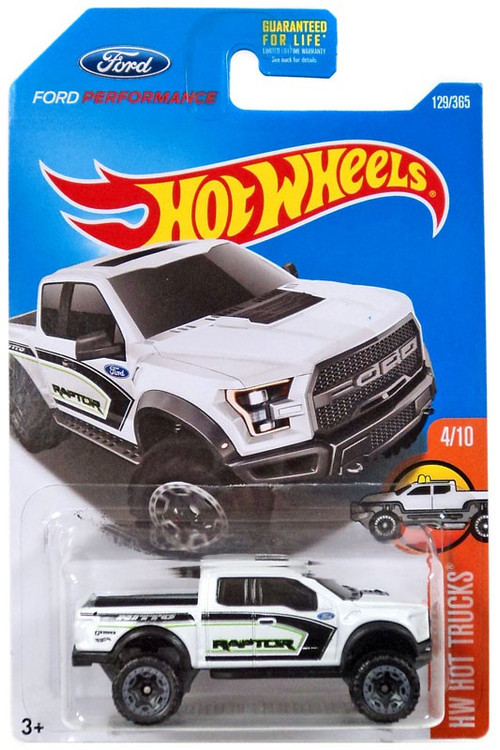 Hot Wheels HW Hot Trucks 17 Ford F-150 Raptor 164 Die-Cast Car 410 Mattel Toys - ToyWiz
