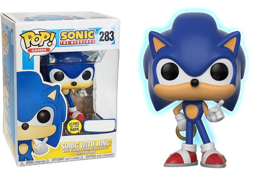 Funko Sonic The Hedgehog Funko Pop Games Sonic With Ring