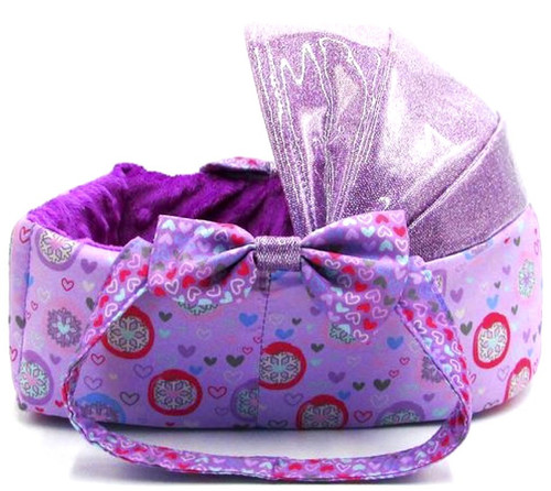 Neonate Babies Espongie Bassinet Accessory [Purple Stage 2]