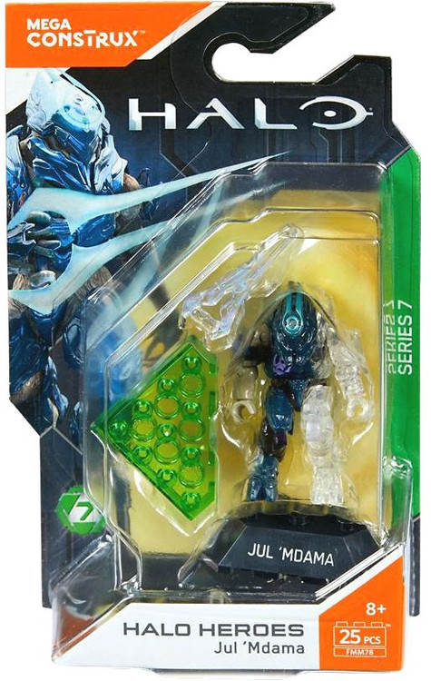 Mega Bloks Mega Construx Halo Heroes Series 7 Jul 'Mdama ...