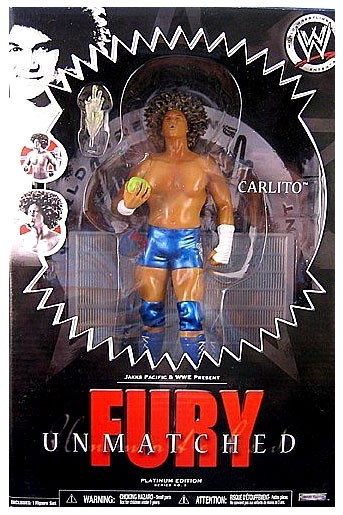 Jakks WWE Wrestling Unmatched Fury Series 3 Carlito Actio...