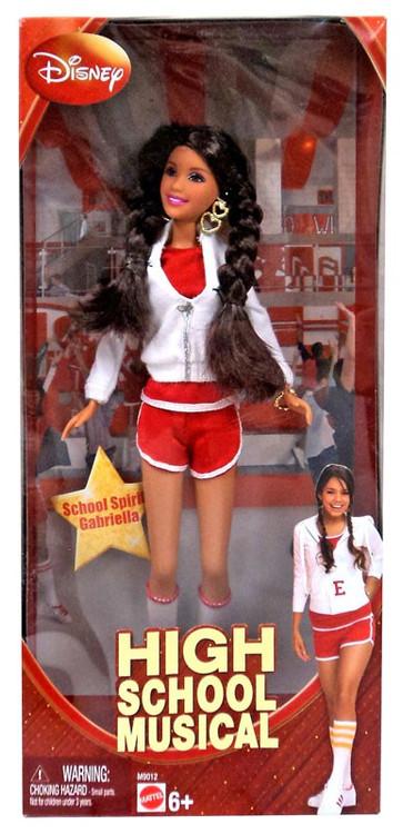 Disney High School Musical School Spirit Gabriella Doll Mattel Toys - ToyWiz