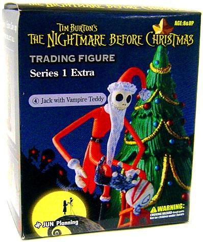 nightmare before christmas series 1 extra jack with vampire teddy trading figure 4