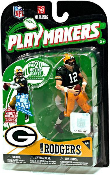 Rublix Toys Green Bay : Mcfarlane toys nfl green bay packers playmakers series