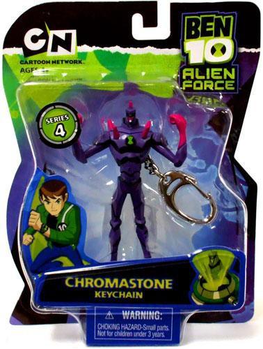 ben 10 alien force series 4 chromastone keychain basic fun toywiz