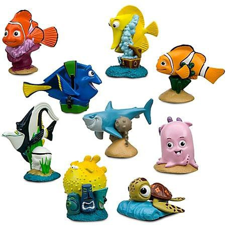 Disney Pixar Finding Nemo Figurine Playset Exclusive