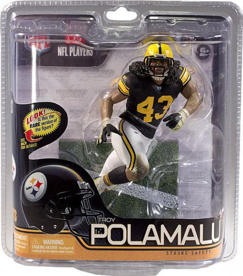 Toys For Troy : Mcfarlane toys nfl pittsburgh steelers sports picks series