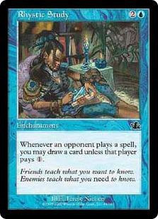 Rhystic Study (Prophecy) - Gatherer - Magic: The Gathering