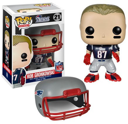 ddad1614c NFL New England Patriots Funko POP Sports Rob Gronkowski Vinyl Figure  21