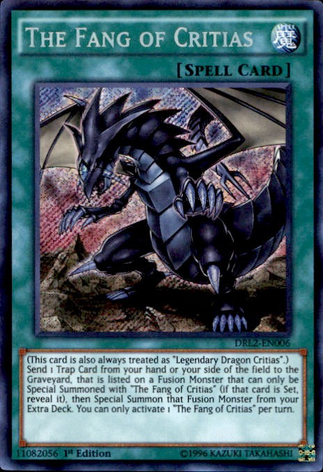 yugioh dragons of legend 2 single card secret rare the