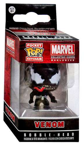 Funko Marvel Pocket Pop Marvel Venom Exclusive Keychain Toywiz