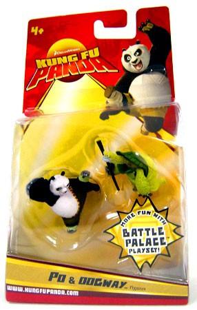 Kung Fu Panda Po Oogway Mini Figure 2 Pack Mattel Toys Toywiz