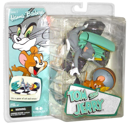 Mcfarlane Toys Hanna-Barbera Series 2 Tom & Jerry Action ...