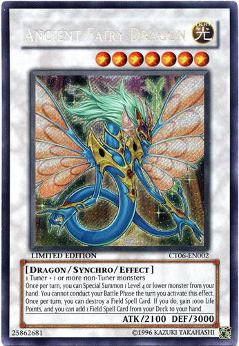 Is Saturday A Business Day For Ups >> YuGiOh 5Ds 2009 Collector Tin Single Card Secret Rare Ancient Fairy Dragon CT06-EN002 - ToyWiz