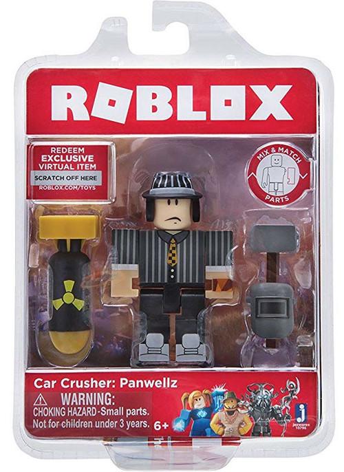 Roblox Car Crusher Panwellz 3 Action Figure Jazwares - ToyWiz