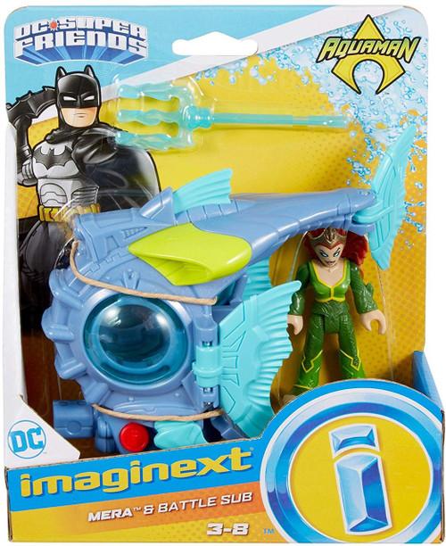 Fisher Price Dc Super Friends Aquaman Imaginext Mera