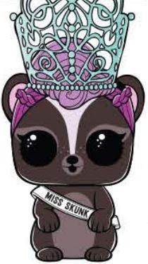Lol Surprise Series 4 Eye Spy Pets Miss Skunk Fancy Figure
