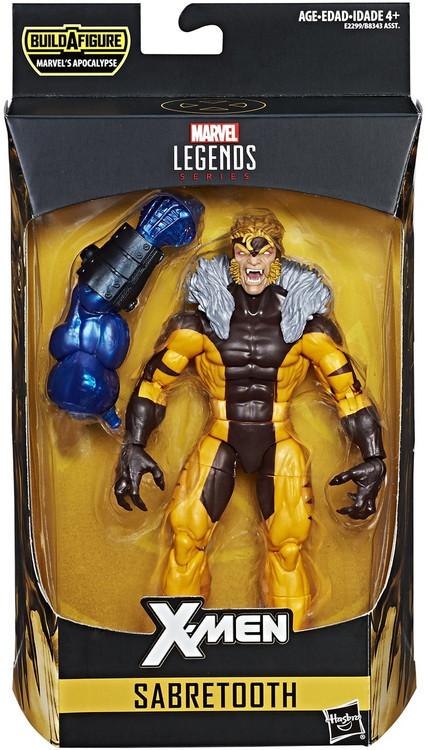 Marvel X Men Marvel Legends Apocalypse Series Sabretooth 6